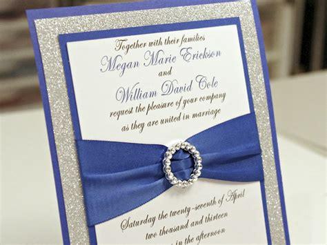 Cheap Wedding Invitations Blue by Blue Wedding Invitations Cheap Royal Blue Diy Wedding