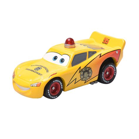 Tomica Cars C 31 Rescue Go Go Lightning Mcqueen Kuning Takara Tomy jual tomica disney cars c 31 rescue go go lightning mcqueen diecast mainan anak harga