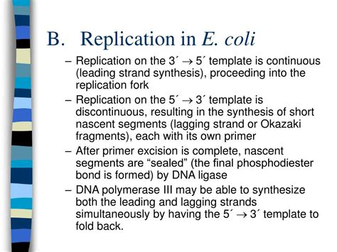 ppt dna replication powerpoint presentation id 247339
