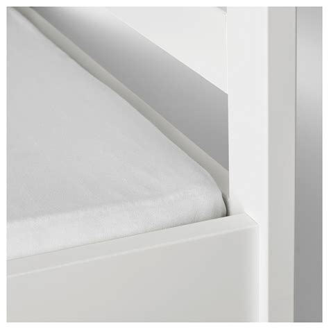len ikea len fitted sheet white 70x160 cm ikea