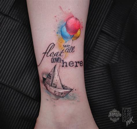 float on tattoo stephen king it we all float here ideas
