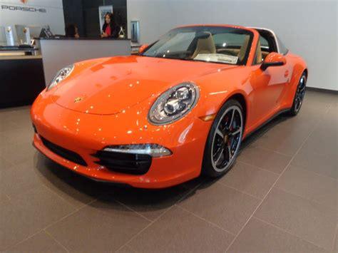orange porsche targa 2016 porsche 911 targa 4s for sale 23 used cars from 121 900