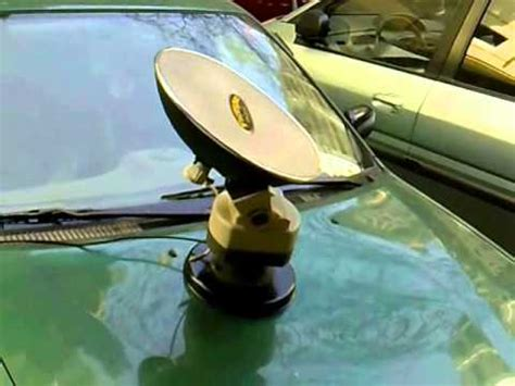 manual tracking mobile satellite antenna for your car 40cm by farragsat