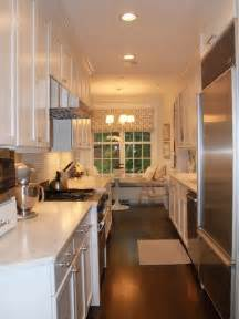 Kitchen Gallery Ideas Form And Function In A Galley Kitchen