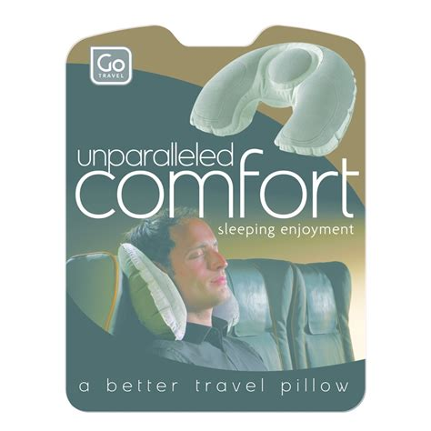 Go Go Pillow by Go Travel Unparalleled Comfort Travel Pillow