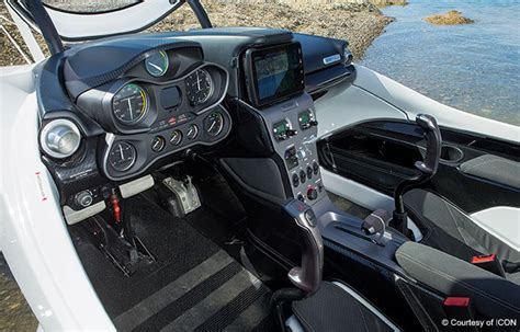 Icon A5 Interior by The Icon A5 Meets Aviation Plane Pilot Magazine