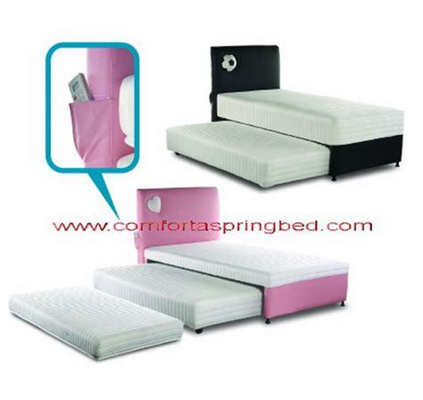 Kasur Sorong Anak Uniland bed 2 in 1 kasur sorong springbed anak sorong