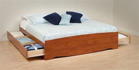 prepac platform bed prepac king platform storage bed bk 8400