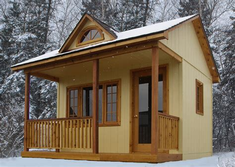 bunkie house plans candian bunkies