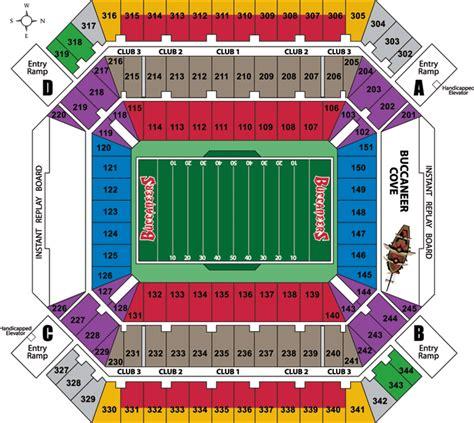 raymond stadium seating raymond stadium ta bay buccaneers football