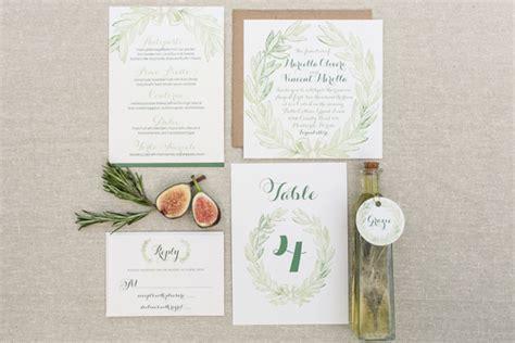 tuscan themed wedding invitations tuscan wedding inspiration 100 layer cake
