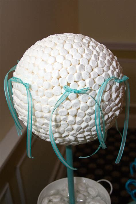 marshmallow topiary 17 best images about centerpiece on
