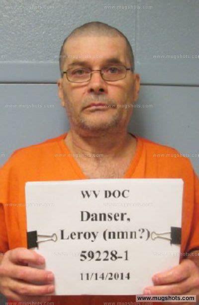 Monongalia County Arrest Records Leroy Danser Mugshot Leroy Danser Arrest Monongalia County Wv