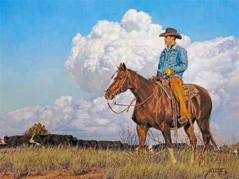 imagenes de vaqueras a caballo con frases cuadros modernos pinturas y dibujos vaqueros del oeste a