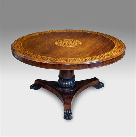 Antiques Dining Tables Antique Marquetry Centre Table Antique Dining Table Rosewood Breakfast Table Antique