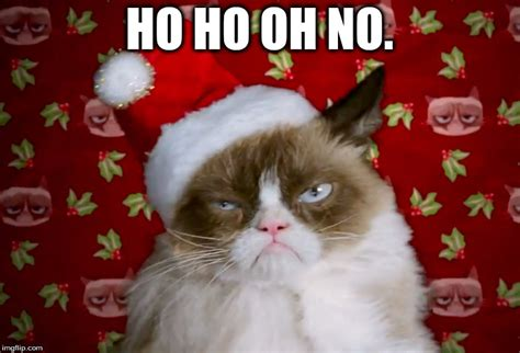 Cat Christmas Meme - grumpy cat christmas imgflip