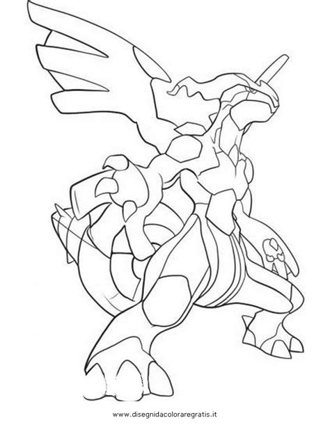 pokemon coloring pages black and white zekrom reshiram pokemon black coloring pages