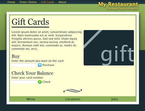 themeforest gift card don s cafe by dontangg themeforest