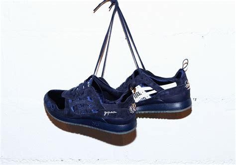 Asics Gel Lyte Iii X Beams Premium Quality 1 beams mita asics gel lyte 3 souvenir jacket blue sneakernews