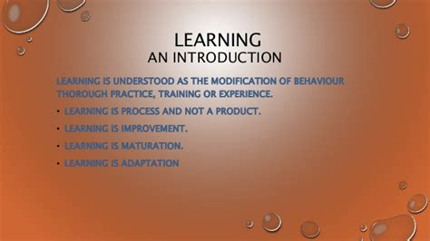 Mba Meaning Education by Simple Meaning Of Learning