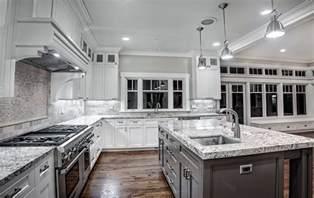 Modern Dining Room Furniture White Ice Granite Countertops For A Fantastic Kitchen Decor