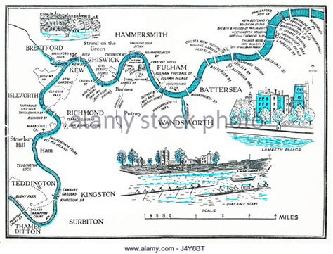 river thames waterways map thames river map stock photos thames river map stock