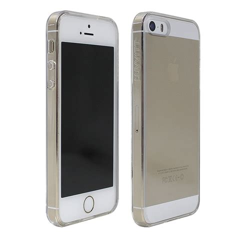 Iphone Iphone 5s Cracker Cover luvvitt clearview slim clear back with bumper for iphone 5 5s ebay