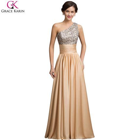 aliexpress com buy one shoulder evening dresses 2017