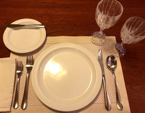 how to set a table for table setting etiquette