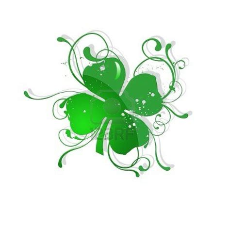 tattoo paper ireland 4 leaf clover st patric day stock photo st patrick s day