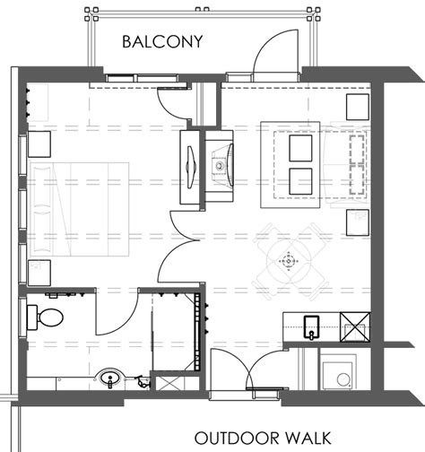 floor plan of the one bedroom suite quinte living centre rooftop one bedroom suite moose hotel and suites banff