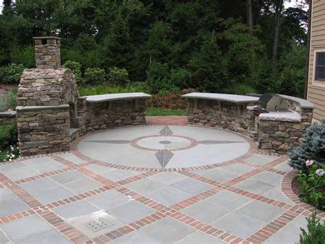 Round Patio Designs Great With Photos Of Round Patio