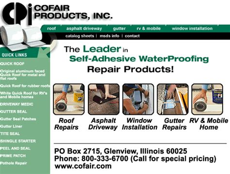 products inc cofair products inc