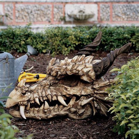 Skull Garden by Skull Statue Garden Table Sculpture
