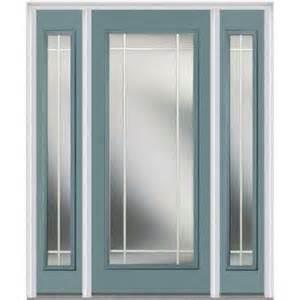 Front Door With Sidelites Single Door With Sidelites Front Doors Exterior Doors The Home Depot