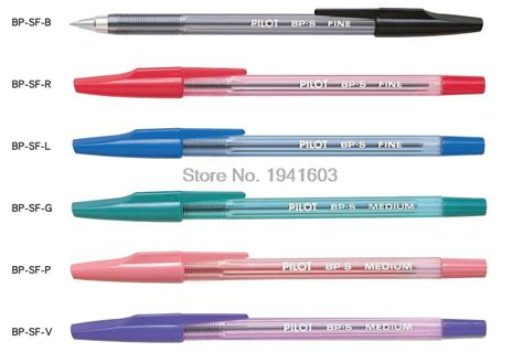 Six Colors In One Ballpoint Pen Pulpen 6 Warna 6 pcs lot pilot ballpoint pen bp sf 6 colors to choose original japan office and school