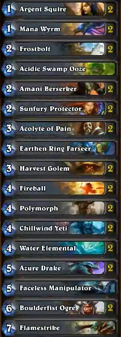 mage basic deck hearthstone what are the best decks for beginners arqade