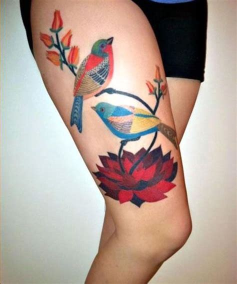 top rated tattoo artists 195 top thigh tattoos for