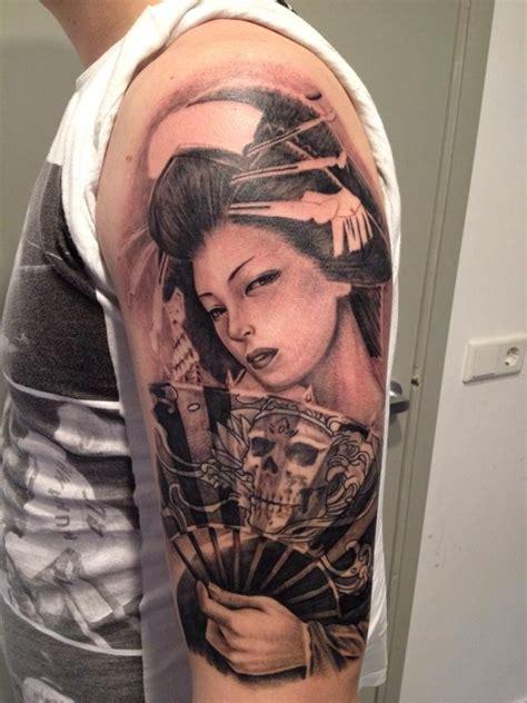 tattoo voorbeelden geisha favoriete tattoostijlen sorayatattoo