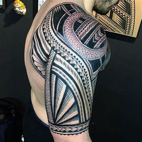 tribal quarter sleeve tattoo designs tribal tattoos for men half sleeve design www pixshark