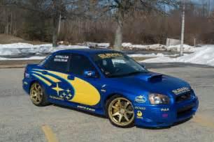 Rally Subaru 2005 Subaru Wrx Sti In World Rally Blue Auto Restorationice