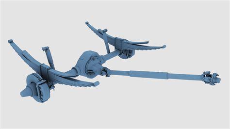 3d spring models 3d model suspension spring