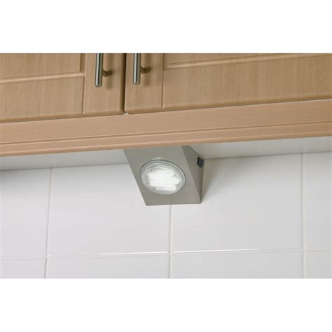 cupboard kitchen lighting el 10021 kitchen cupboard lighting surface mounted satin