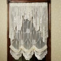 Livingroom Valances by 6 Styles Of Lace Curtains