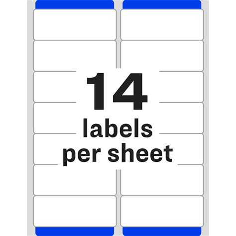 Item Ave5962 Cpi One Point 33 Labels Per Sheet Template
