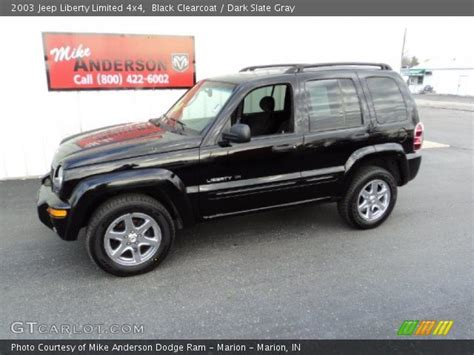 2003 jeep liberty limited black clearcoat 2003 jeep liberty limited 4x4