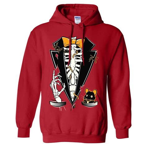 Hoodie Skeleton Zalfa Clothing skeleton ribcage tuxedo sweatshirt hoodie ebay