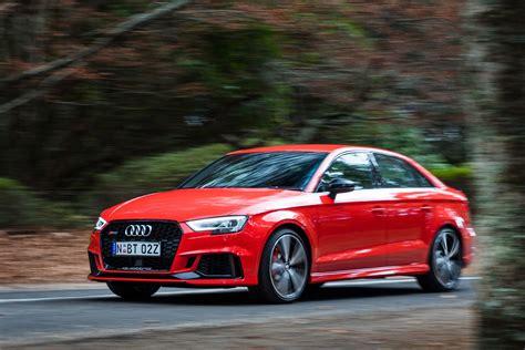 Price Of Audi Sedan by 2017 Audi Rs3 Sedan Review Caradvice