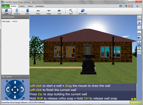home design pro software galeria zdjęć zrzuty ekranu screenshoty dreamplan