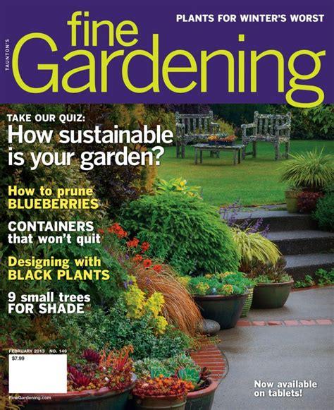 fine gardening magazine design trees fine gardening
